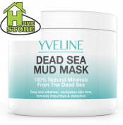 Dead Sea Mud Mask 100 Natural Minerals Deep Cleansing, Detoxing, Purifying...