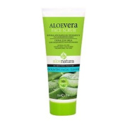 Aloe Natura Face Scrub 75 Ml. Shipping Is Free