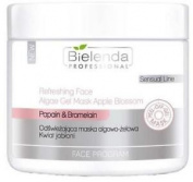 Bielenda Professional Refreshing Face Algae Gel Mask Apple Blossom 200g