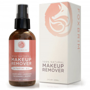 Foxbrim 100% Natural Makeup Remover & Facial Oil - Effortlessly Remove Makeup