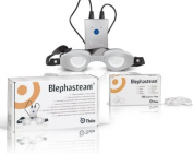 Blephasteam Eye Steamer Goggle Including 100 Replacement Rings Dry Eye