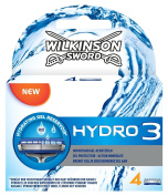 Wilkinson Sword Hydro 3 Men's Razor Blades X4