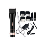 Sminiker Quiet Hair Clippers Cordless Rechargeable Hair Clippers For Adults