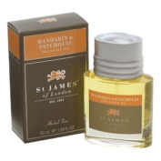 St James Of London Mandarin & Patchouli Alcohol Free Pre-shave Oil