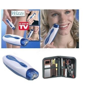 Wizzit Epilator Face-touch Epil Hair Remover Manicure Set New