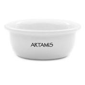 Artamis White Ceramic Shave Bowl