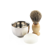 Anbbas Best Badger Hair Shaving Brush 10cm Height With Double Layer Stainless