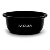 Artamis Black Ceramic Shave Bowl