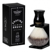 Gentleman's Hardware Shaving Brush & Stand Men's Grooming *bnwt