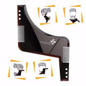 Beard Shaping Comb Tool Template Styling Shaper Perfect Symmetry Facial Trimming