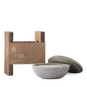 Arran Aromatics Lochranza Shave Stone And Soap 100g Free P & p