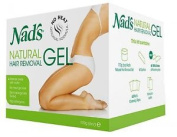 Nad's Natural Hair Removal Gel Legs, Arms, Bikini Line Underarms Smooth Skin New