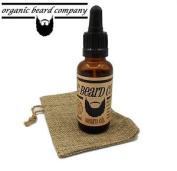 Organic Beard Oil Formulated From 9 Organic Oils Dark Forest 30ml .