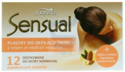 Joanna Sensual Face Depilaiton Strips With Sweet Almonds Oil 12pcs. Iai