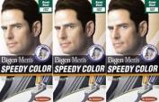 Six Packs Of Bigen Mens Speedy Hair Colour 102 Brown Black