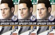 Twelve Packs Of Bigen Mens Speedy Hair Colour 102 Brown Black