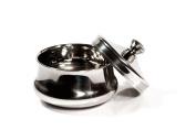 Shaving Bowl Elegant Stainless Steel With Lid