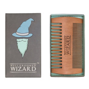 Well Groomed Wizard Beard Comb, Moustache And Beard Grooming Comb For Men