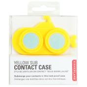 Kikkerland Yellow Submarine Contact Lens Case