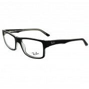 Ray-ban Glasses Frames 5245 2034 Top Black On Transparent
