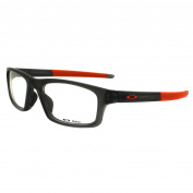 Oakley Glasses Frames Crosslink Pitch 8037-06 Satin Grey Smoke