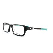 Oakley Glasses Frames Chamfer 8039 Ox8039-09 Black & Teal