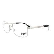 Mont Blanc Glasses Frames 0481 016 Palladium Silver