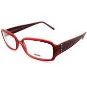 Fendi Frames Glasses 839r 639 Red Opal Pink
