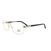 Mont Blanc Glasses Frames 0530 028 Shiny Rose Gold & Black