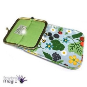 Gisela Graham Kitchen Garden Floral Bee Sun Glasses Spectacle Case Vintage