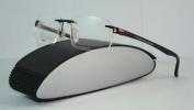 Porsche Design P 8214 D Dark Burgundy Rimless Brille Eyeglasses Frames Size 56