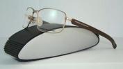 Porsche Design P 8199 C Matt Gold & Matt Brown Brille Eyeglasses Frames Size 59