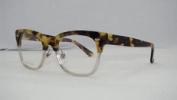 New Gucci Gg 3747 3mq Yellow Havana - Crystal Frames Glasses Eyeglasses Size 50