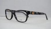 New Gucci Gg 3683 2z3 Grey Havana Frames Glasses Eyeglasses Size 53