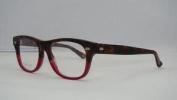 New Gucci Gg 3769 H49 Dark Havana Burgundy Frames Glasses Eyeglasses Size 50