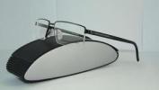 Porsche Design P 8126 C Dark Grey Black Half Rim Brille Eyeglasses Frames S 54