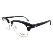 Ray-ban Glasses Frames 5154 Clubmaster 2000 Shiny Black 49mm
