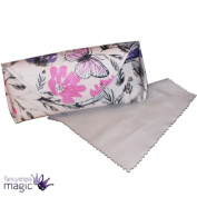 *gisela Graham Glasses Specs Case Mothers Day Watercolour Flower Butterfly*