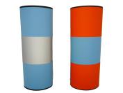 Reversible Magic Mind Boggling Magnetic Glasses Case Orange / Blue Mens Kids Fun