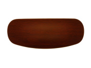 Wood Effect Hard Protective Easy Clean Glasses Case Dark Brown Free Box