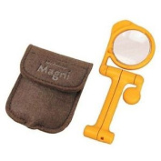'monsieur Magni' 3.5x Compact Pocket Magnifying Glass With Wallet Engineer Sl-64