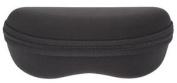 Shaped Black Zip Up Sunglasses / Glasses Case - Medium / Small - Uk Dispatch