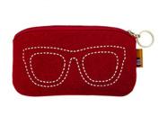 Isuperb® Eyeglass Sunglass Pouch Case Fashionable Cute Glasses Bag Holder S