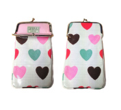 Gisela Graham Brushstroke Hearts Glasses Specs Spectacles Case Mothers Day