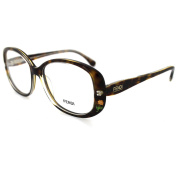 Fendi Frames Glasses 815 238 Havana Crystal