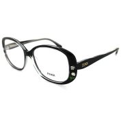 Fendi Frames Glasses 815 001 Black Crystal