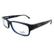 Ray-ban Glasses Frames 5114 5064 Top Havana On Blue