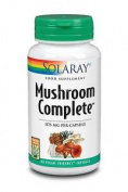 Solaray Mushroom Complete Eight Medicinal Mushroom Complex 60 Vegan Capsules