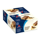 Atkins Low Carb, High Protein, Chocolate Hazelnut Crunch Snack Bars, 16 X 60g