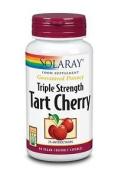 Solaray Triple Strength Tart Cherry 90 Vegan Capsules 3% Anthocyanin Antioxidant
